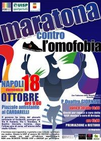 maratona contro l'omofobia