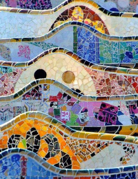 un'opera di Gaudì
