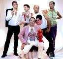 """il cast di """"fiesta"""" al Penguin"""
