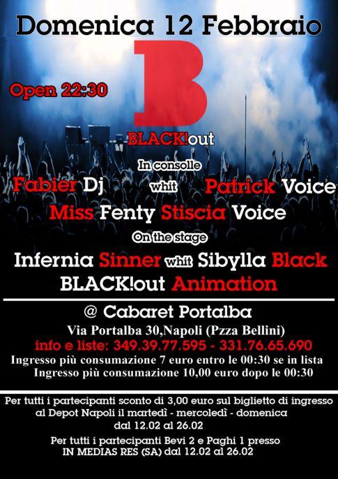 flyer blackout