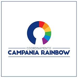 il nuovo logo del campania rainbow