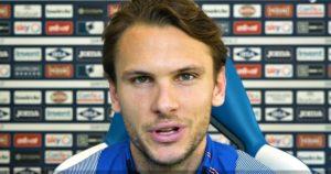 Ekdal della Sampdoria contro l'omofobia nel calcio lancia un video messaggio
