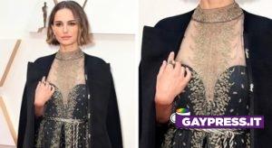 Natalie Portman dettaglio vestito