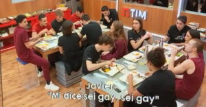 Amici 19 video inedito del ballerino omofobo Valentin che si scaglia contro Javier