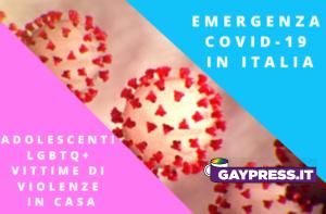 Violenze-adolescenti-lgbtq+-Italia-quarantena-coronavirus