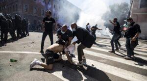 Forza-Nuova-manifestazione-e-risse-a-Roma-sabato-6-giugno-Circo-Massimo-Gaypress.it