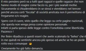Giacomo-Gelmi-post-facebook-di-denucia-per-lettera-minatoria-omofoba_Parte2-lo-sfogo-sul-Social