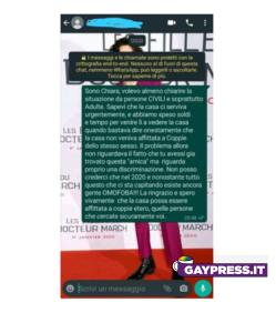 A-Milano-affitto-negato-a-coppia-di-lesbiche-il-messaggio-inviato-da-Chiara-alla-proprietaria
