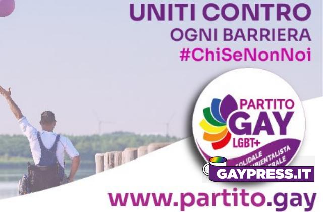 Partito gay solidale, liberale e ambientalista il primo in Italia per i diritti LGBT+ e di tutti