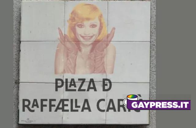A Madrid, nel quartiere gay Chueca sorgerà la Piazza dedicata a Raffaella Carrà