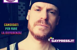 Maximo De Marco sarà il referente per la Regione Abruzzo del Partito Gay
