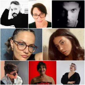 Il cast degli artisti che prenderanno parte allo spettacolo su diversità e inclusione di Teramo il 9 settembre 2021 alle ore 18